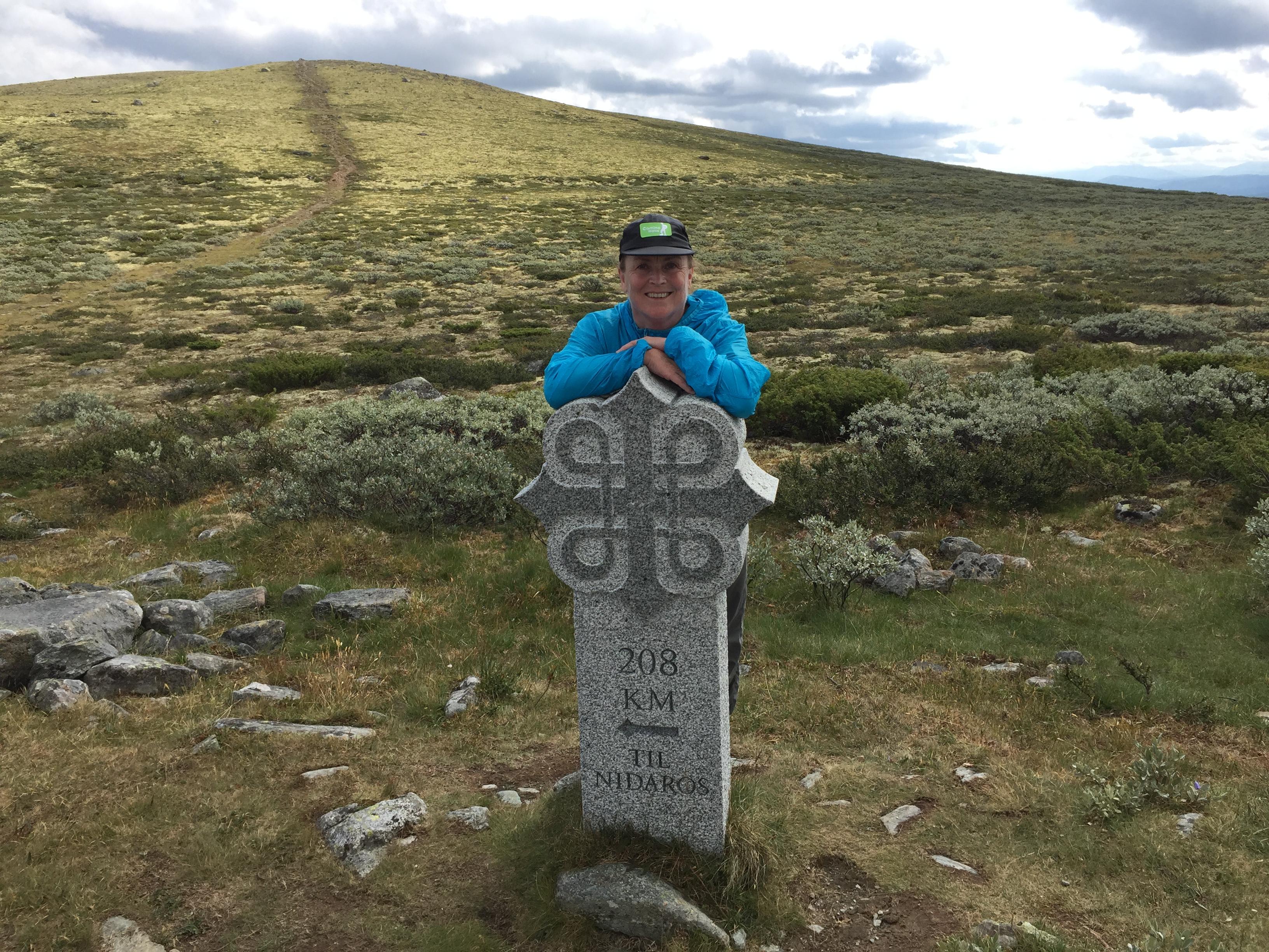 208 km igjen til Trondheim